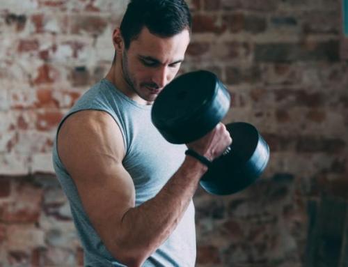 تضخيم العضلات بالأوزان الخفيفة