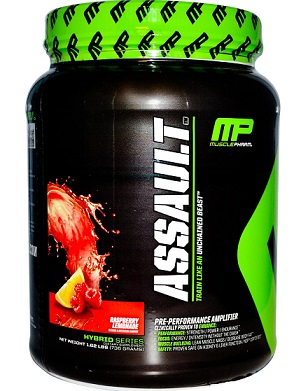 musclepharm assault مكمل