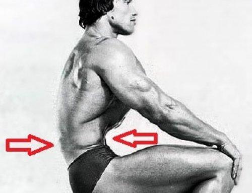 تصغير حجم المعدة و الخصر بتمرين عضلات البطن الداخلية