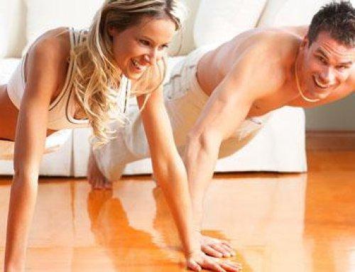 برنامج تدريبي بالمنزل بالدمبلز لزيادة الكتلة العضلية للمبتدئين.
